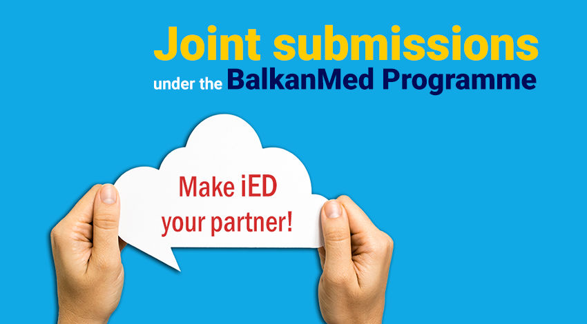 Joint submissions under the BalkanMed Programme