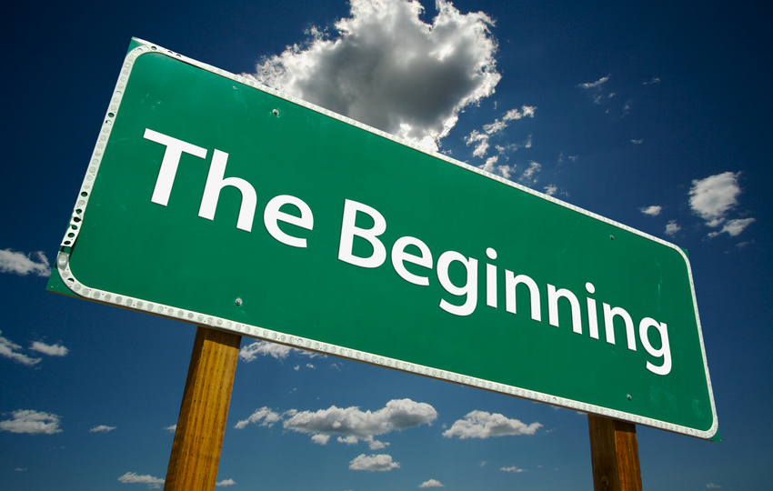 The beginning is critical for ...