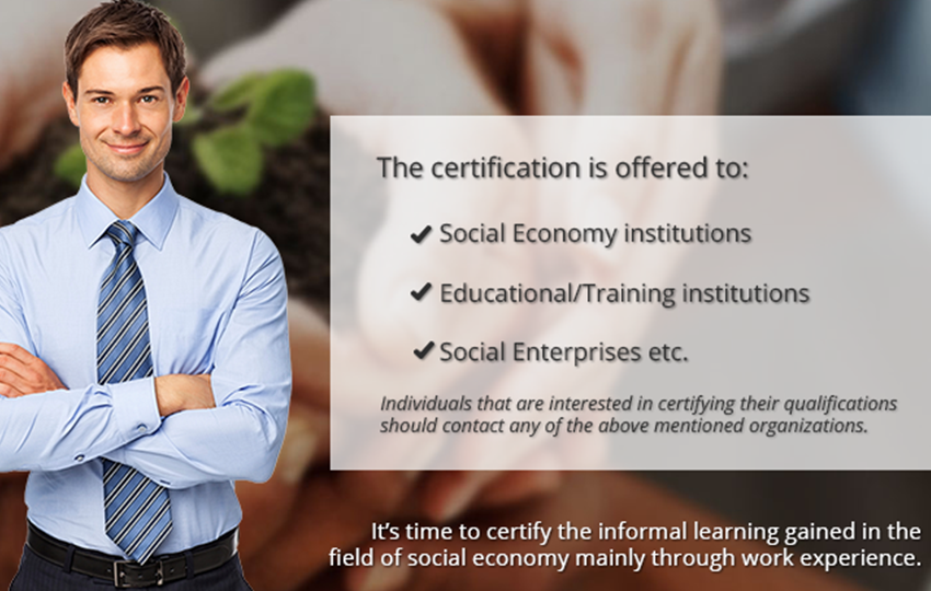Certify your knowledge in Social Economy!