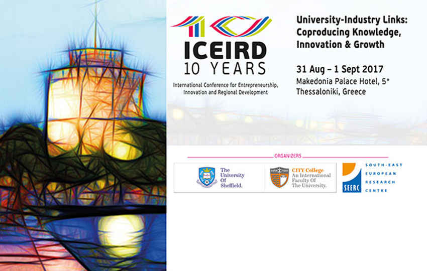 iED will participate in ICEIRD 2017