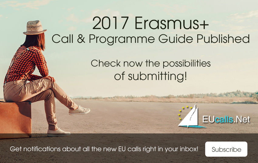 2017 Erasmus+ call of proposals published