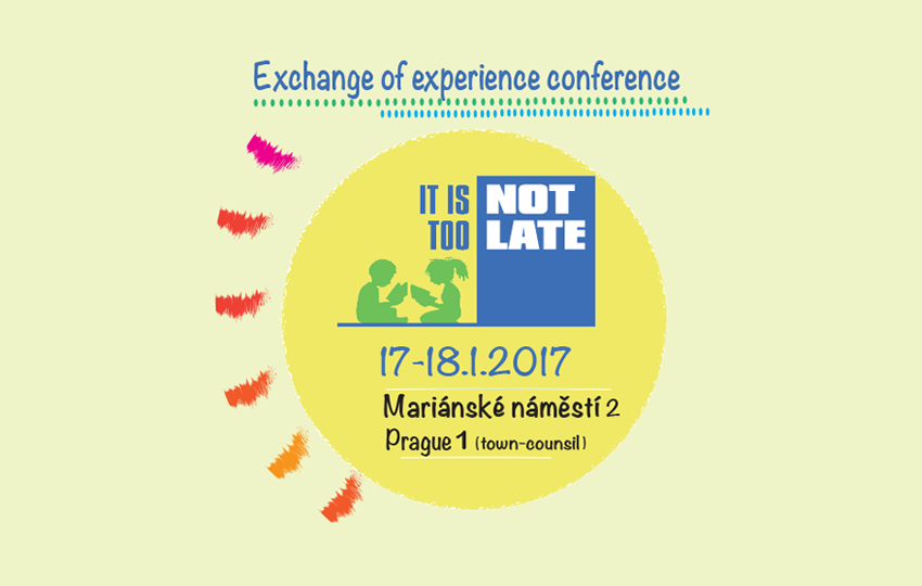"The first exchange conference and the awareness campaign"" It is not too late!"""