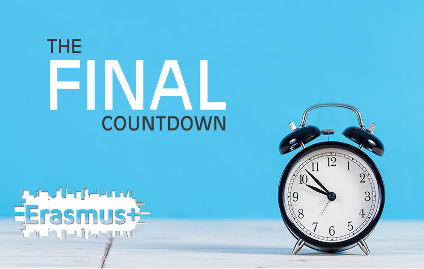 The final Countdown for the Erasmus+
