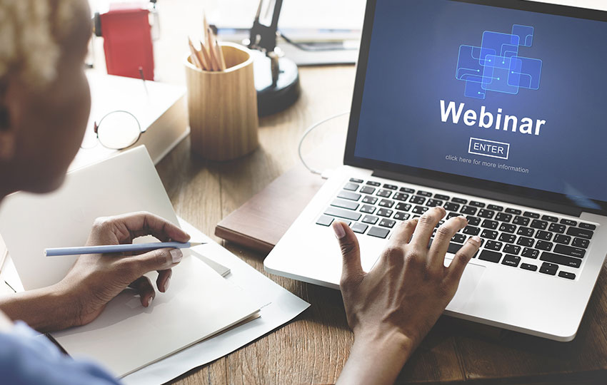 Webinar – Interactive presentation in real-time